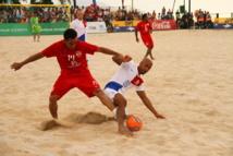 Beach Soccer: 9 à 3, les Tiki Toa enchaînent les victoires