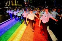 Sydney: Le passage piéton Rainbow a disparu