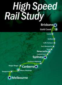 Le projet de TGV australien a désormais un coût