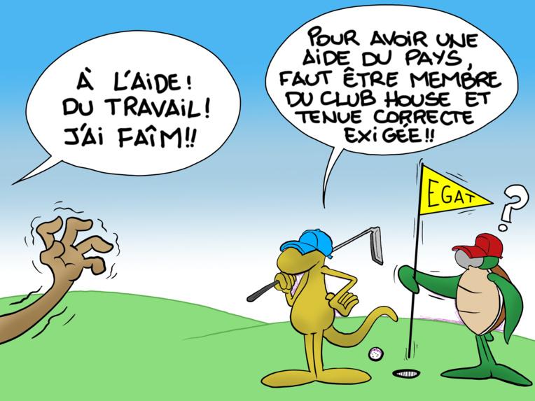 """On se met au golf"", par Munoz"