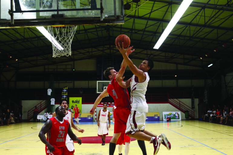 Basket : Tahiti s'incline 67 à 88, la tête haute, face aux states