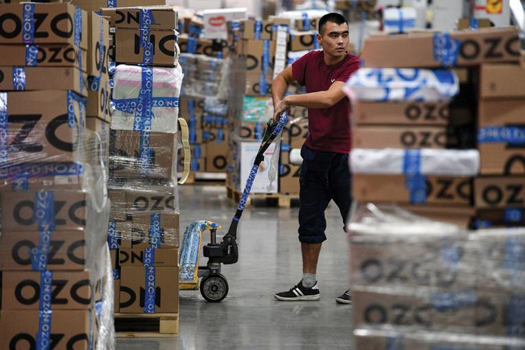 """Ozon, """"l'Amazon russe"""", veut recruter 1.200 informaticiens en 2021"""