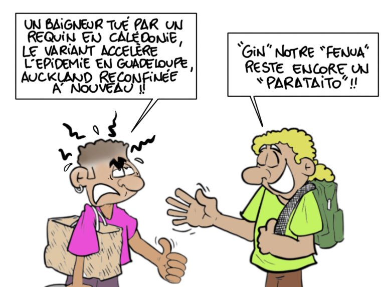 """""""Au paradis"""", par Munoz"""