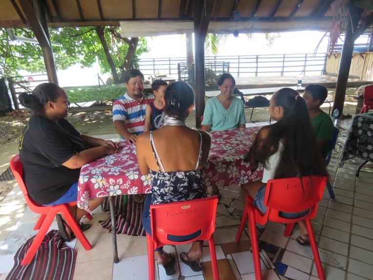 Une délégation Epilepsie France à Moorea