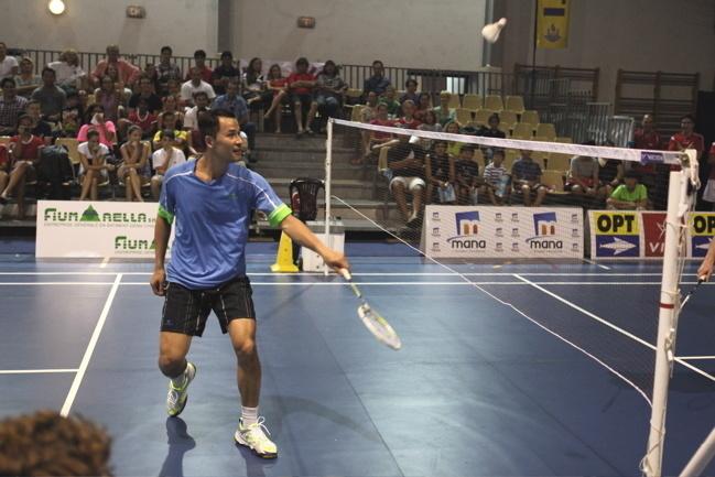 Badminton : Cérémonie d'ouverture du tournoi international