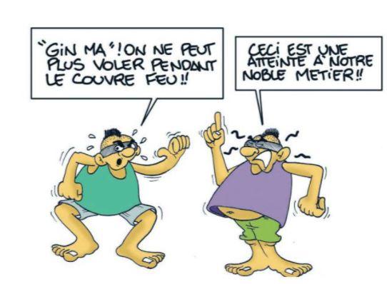 """""""Voleurs masqués"""" par Munoz"""