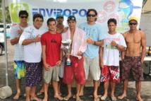 Va'a V6 : Hititoa gagne la course Enviropol