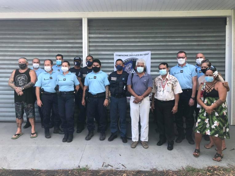 Les victimes des cambriolages ont pu récupérer leurs biens à la gendarmerie de Paea mardi.