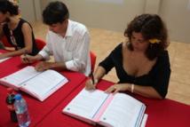 Beach Soccer : Convention signée entre le COL et le Gie Tourisme