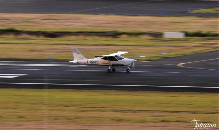 (Photo : FB Rare Tahitian Air/Port Views)