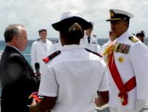 L'ambassadeur de France accrédité à Tonga, Gilles Montagnier