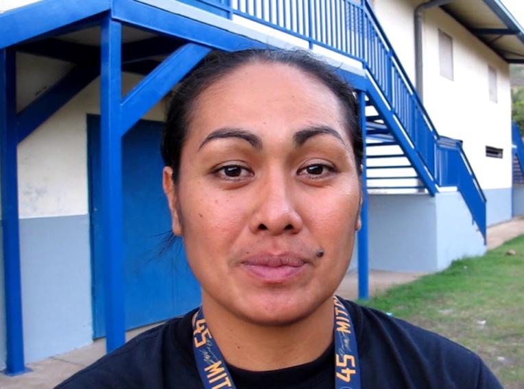 Jeanne Richard Teremihi, la jeune et dynamique présidente du district de basketball de Nuku Hiva