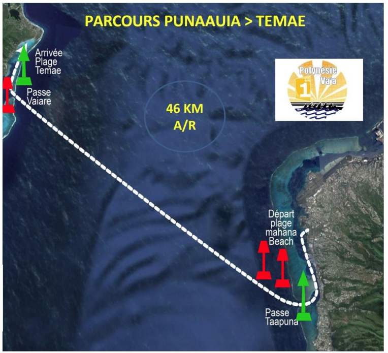 Le marathon Polynésie la 1ère pour lancer la saison en V6