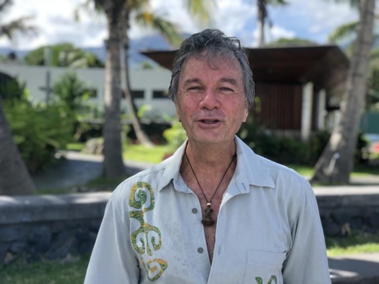 Le leader de Heiura-Les Verts et ancien représentant UPLD, Jacky Bryant.