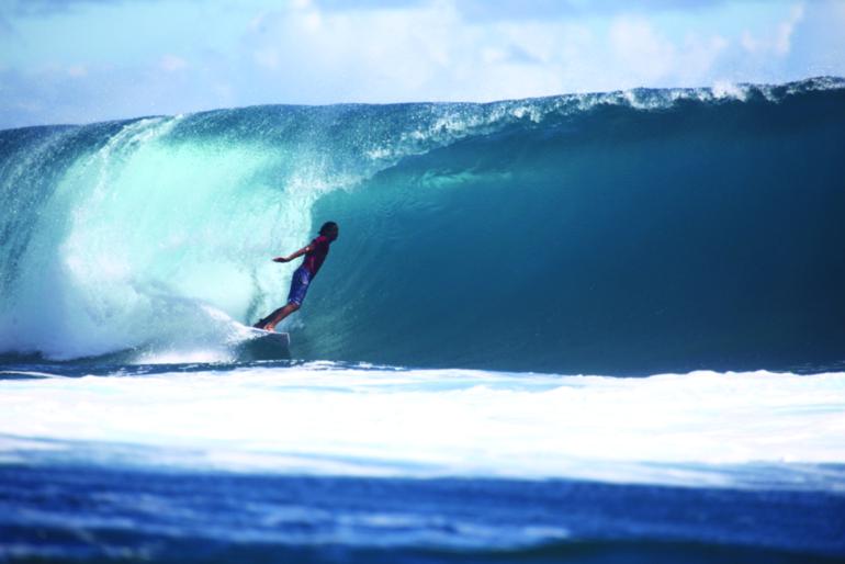 Surf : Lorenzo Avvenenti remporte la Taps Junior