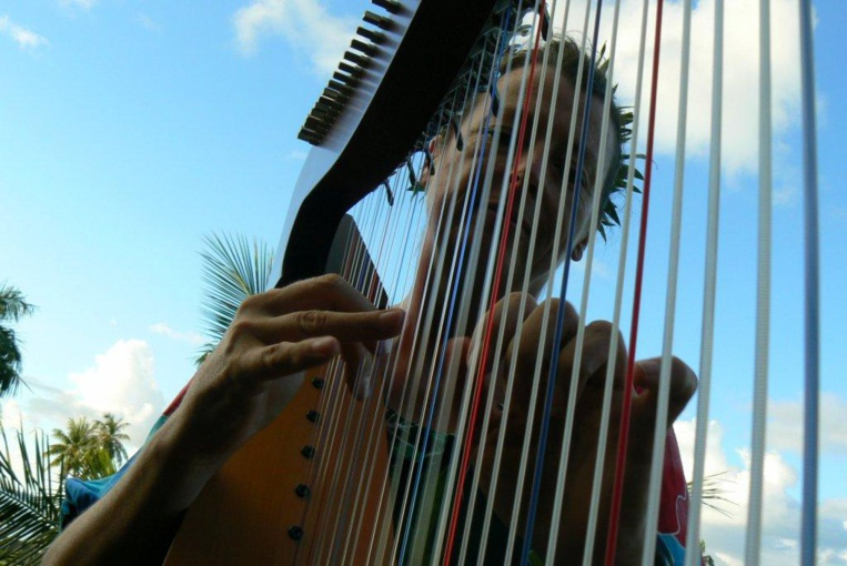 Des airs polynésiens arrangés pour harpistes