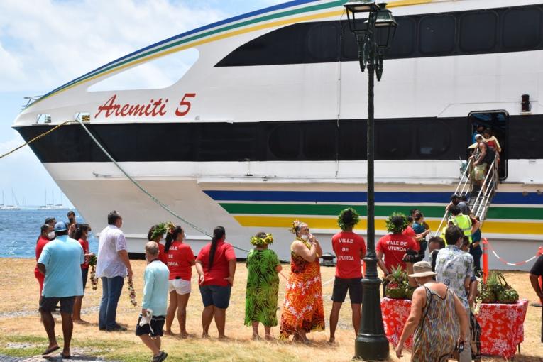 L'Aremiti 5 lance la ligne de l'Apetahi express sur la route des Raromatai