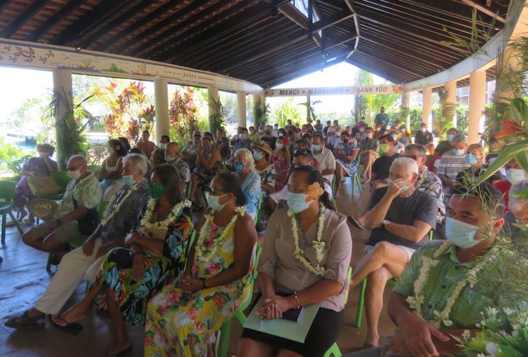 Les professionnels du tourisme de Moorea étaient nombreux à cette journée d'information avec les services du Pays et de l'État.