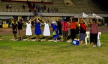 Manifestations au stade national de Port-Moresby : les femmes papoues en colère.