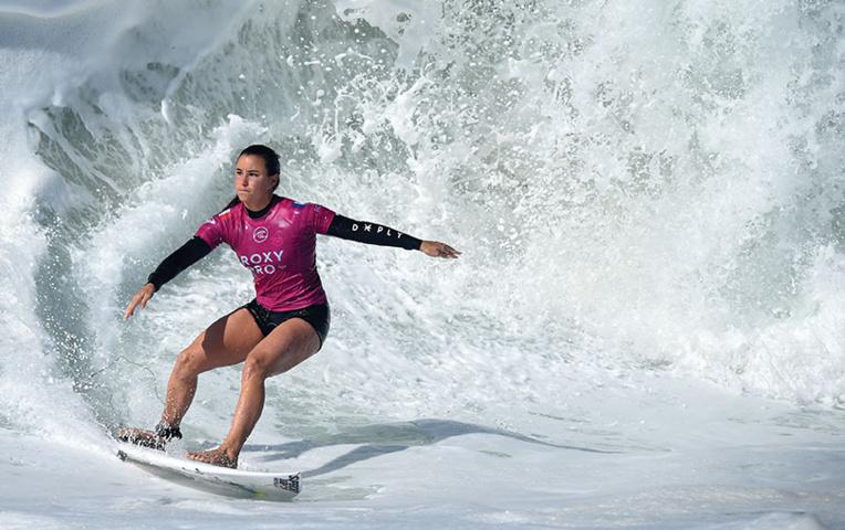 Circuit pro mondial: les surfeurs de retour sur la vague à quatre mois des JO