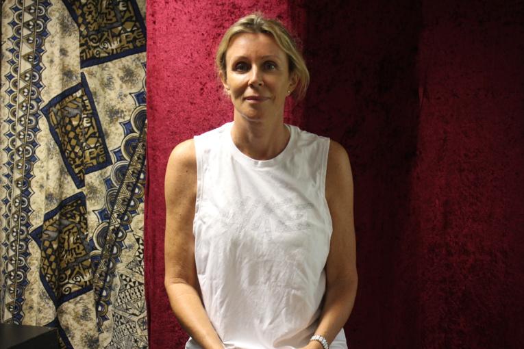 Christine Bennett, professeure d'art dramatique au Conservatoire artistique de Polynésie française.