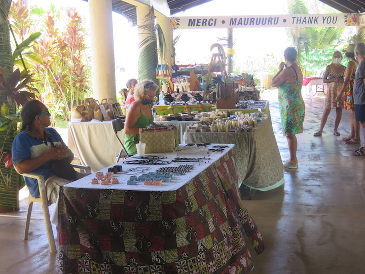 Un salon pour aider les exposants de Moorea durant le week-end pascal