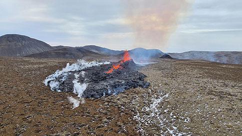 L'éruption en Islande s'étend encore avec une troisième faille volcanique