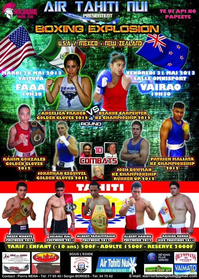 Tournoi de boxe international: Boxing Explosion