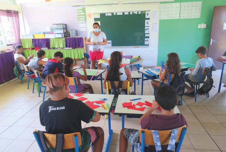 A Moorea, l'école ouverte pour apprendre autrement