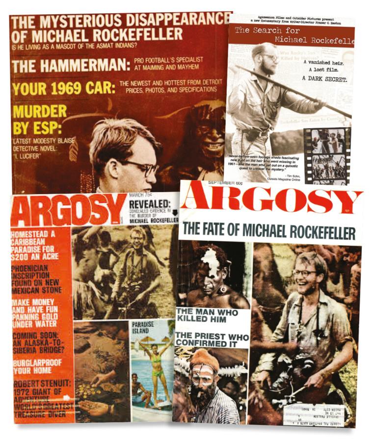 """A partir de fin 1961, journaux, magazines, livres multiplièrent enquêtes et révélations sur la disparition de Michael Rockefeller, la grande affaire """"people"""" de cette époque."""