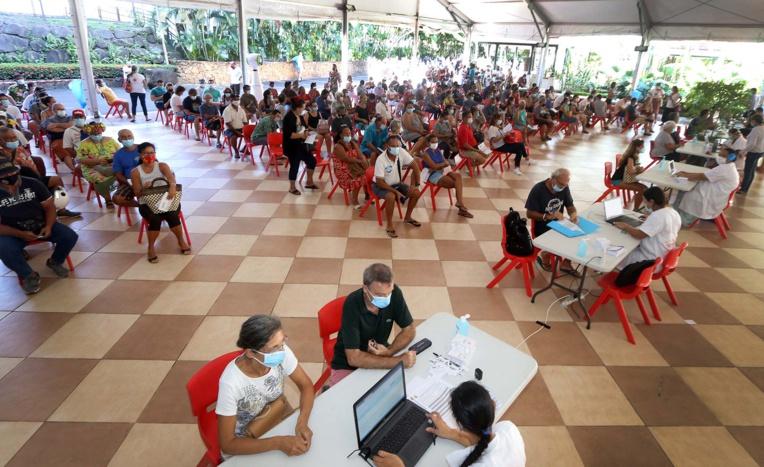 Le centre de vaccination de la présidence ouvert ce week-end