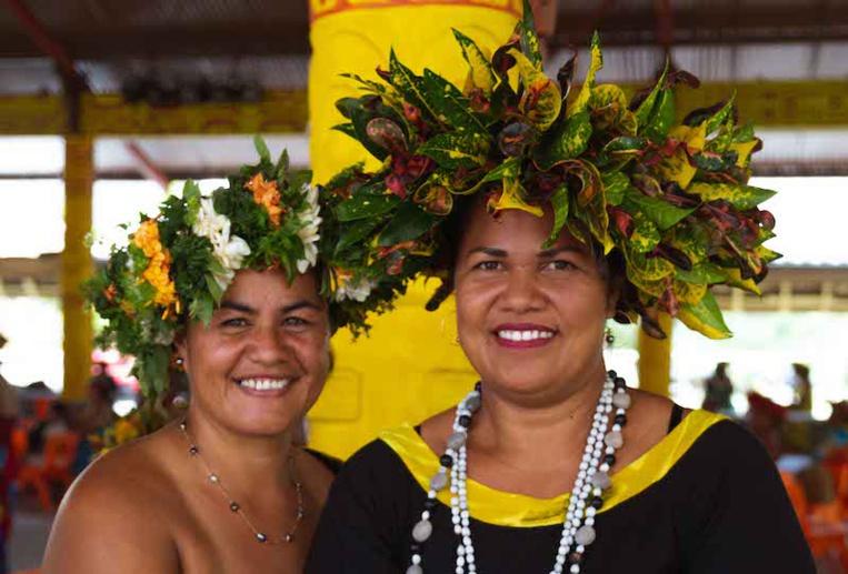 Les femmes de Ua Pou à l'honneur