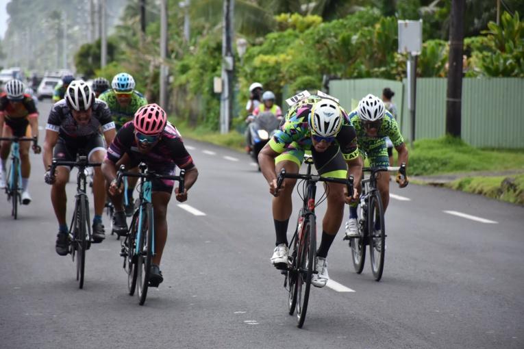 Heiarii Manutahi a débordé Terii Teihotaata sur les derniers mètres de la course pour s'offrir sa première victoire cette saison.