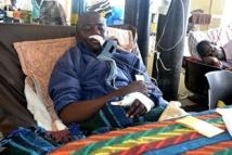 kelvin katoka a survecu à l'attaque d'un python (AFP)