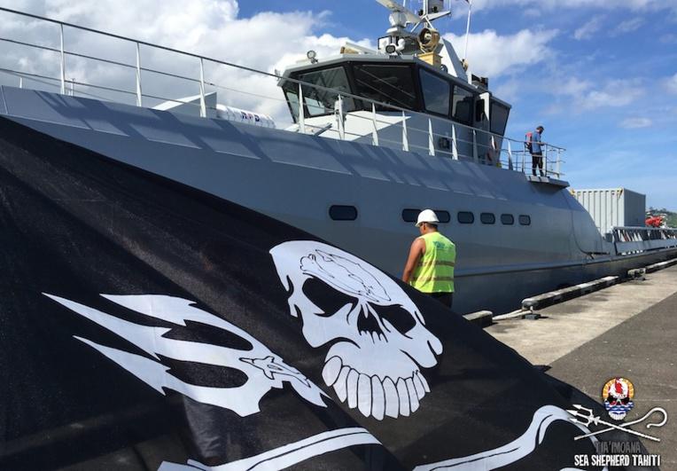 Sea Shepherd contre le hub de pêcheries polynésien