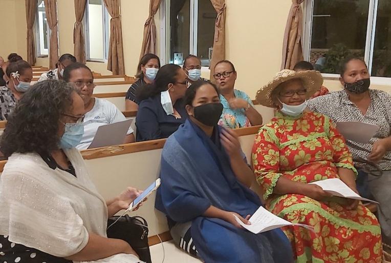 La femme au cœur du séminaire adventiste de Bora Bora