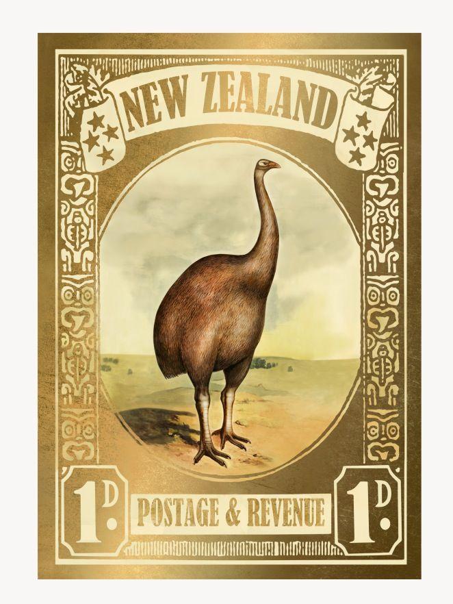 La philatélie kiwie ne pouvait faire autrement que de rendre hommage à cet animal si exceptionnel.