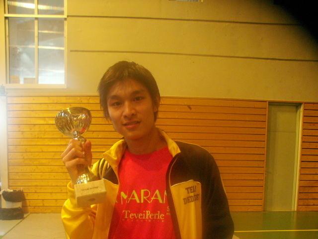 Teddy TENG médaille d'or