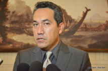 Marcel Tuihani, porte-parole du gouvernement Flosse.