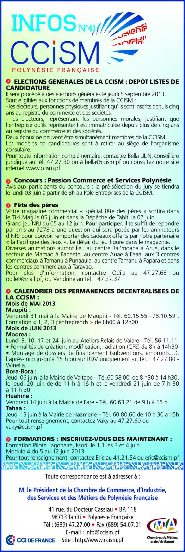 Infos CCISM N°41