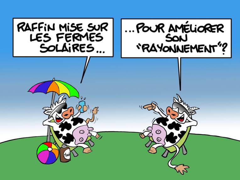 """""""À la ferme..."""", par Munoz"""