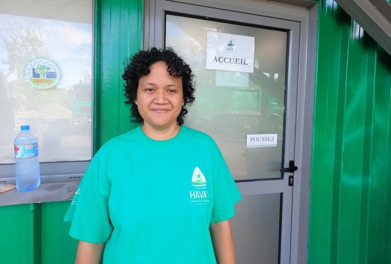 Jena Temauri-Reva est la nouvelle directrice des services techniques de la Communauté des communes Hava'i.