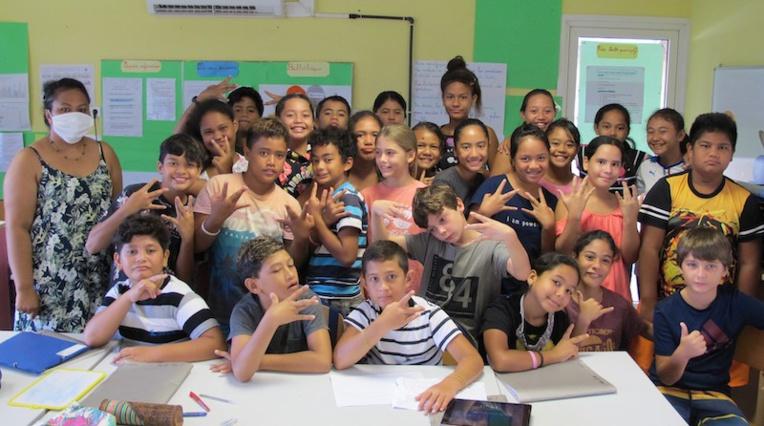 Nuku Hiva : l'école Patoa, boss des maths