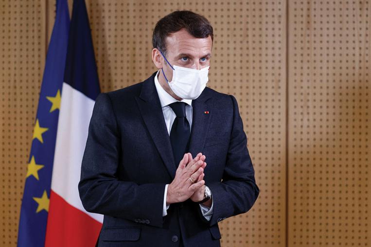 Pour Macron, une course d'obstacles jusqu'à la présidentielle