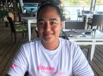 Taiamani Tuiho-Neuffer, gérante de la société bateau-école organisatrice de la formation.