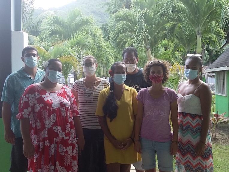 La non-violence enseignée aux élèves de Bora Bora