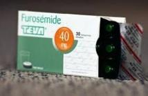 Furosémide Teva: un nouveau décès, rappel de tous les lots et poursuite mardi de l'inspection