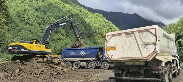 Extractions : Menace de blocage de vallée de Mapuaura