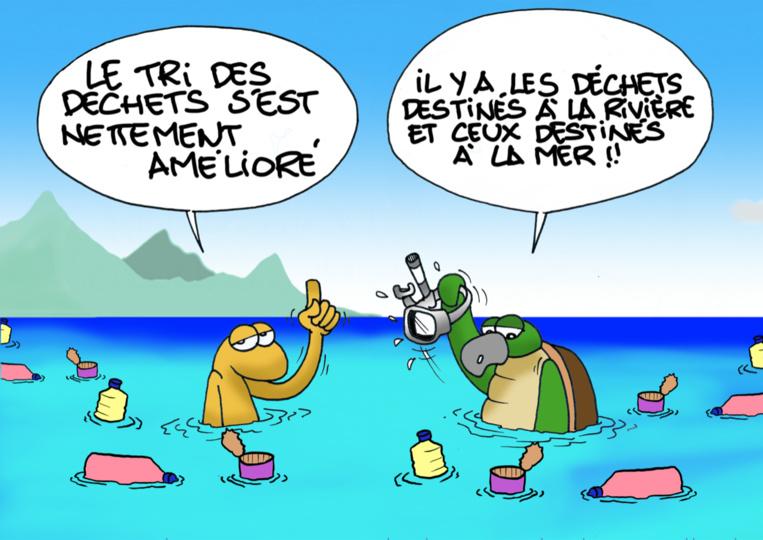 """""""Le bac bleu"""", Par Munoz"""