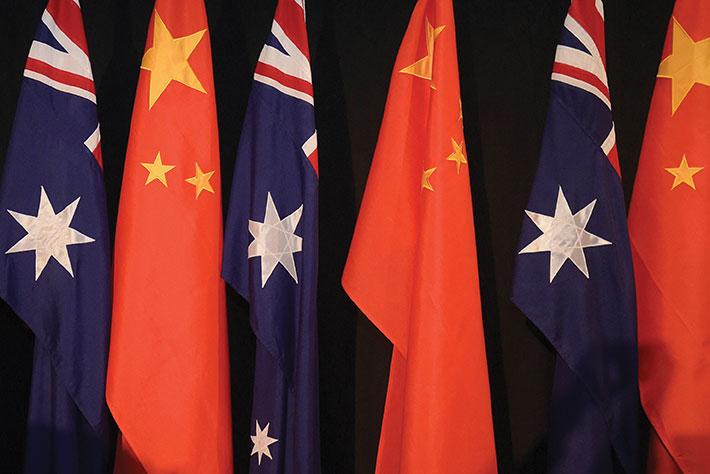 Pékin riposte et suspend des discussions économiques avec l'Australie